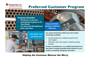 Preferred Customer Program ad & postcard 1