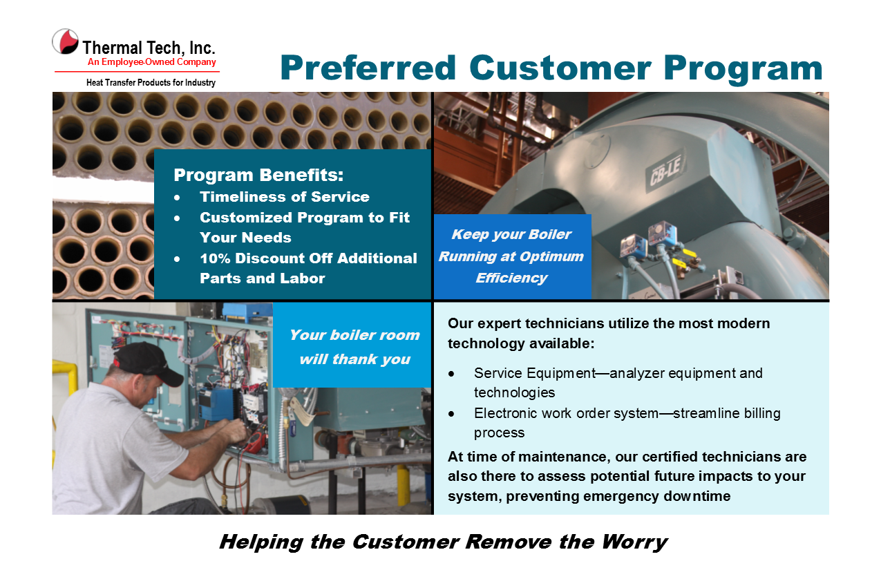 Preferred Customer Program ad & postcard 1 - Thermal Tech