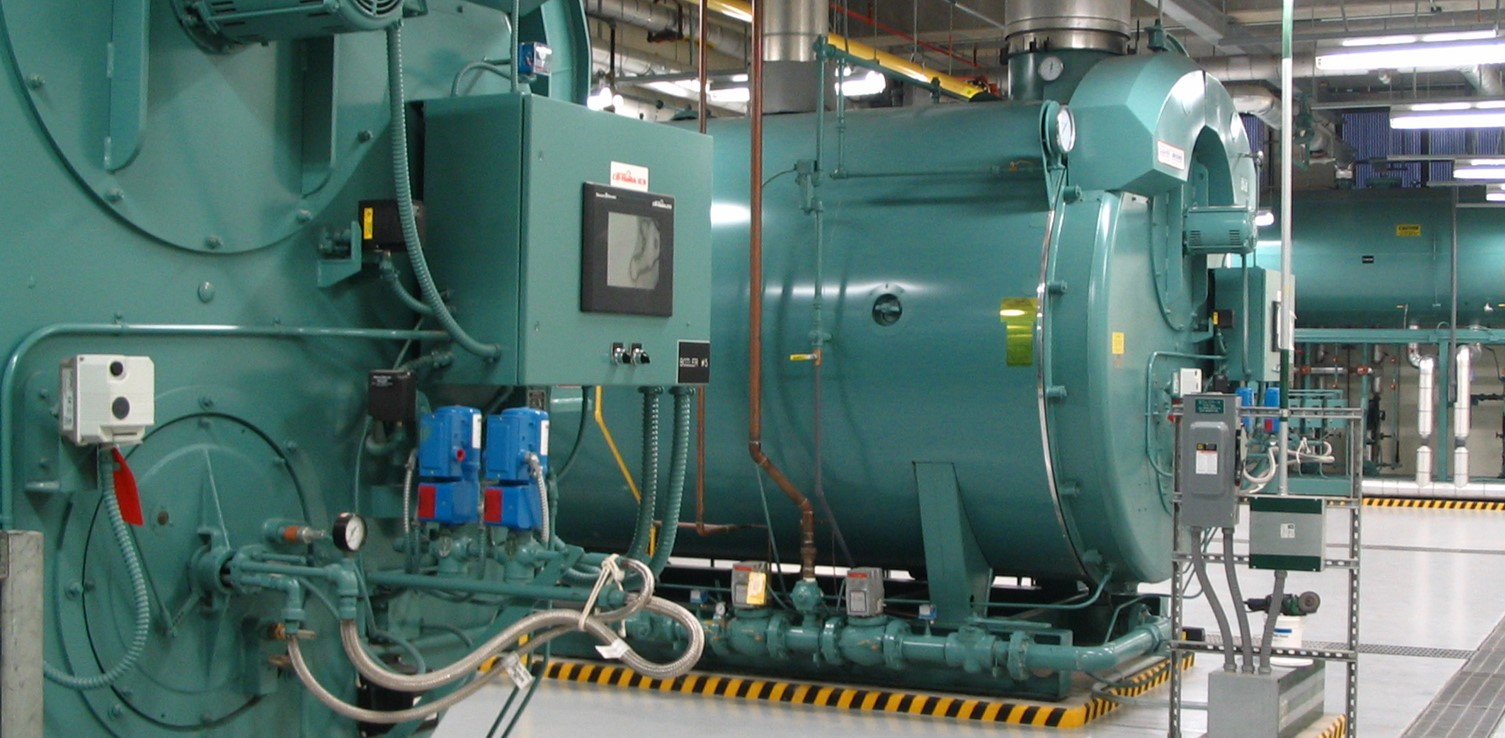 Halifax Medical Center Boiler Room