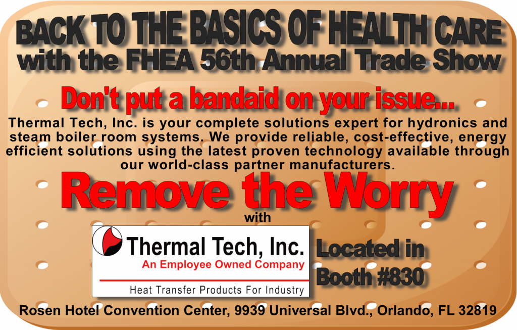 Thermal Tech Inc 2018 FHEA Trade Show -Booth #830